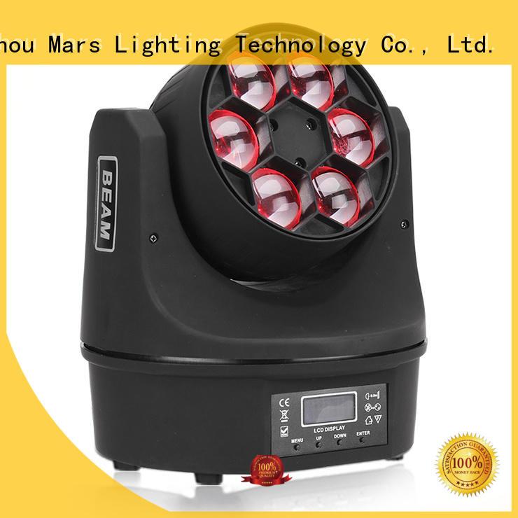 Wholesale 7pcs 12w led moving head light Marslite Brand