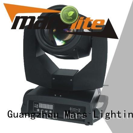 trendy top selling head super mini moving head beam Marslite Brand