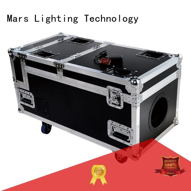 Marslite multi-color stage smoke machine with different visual effects for band