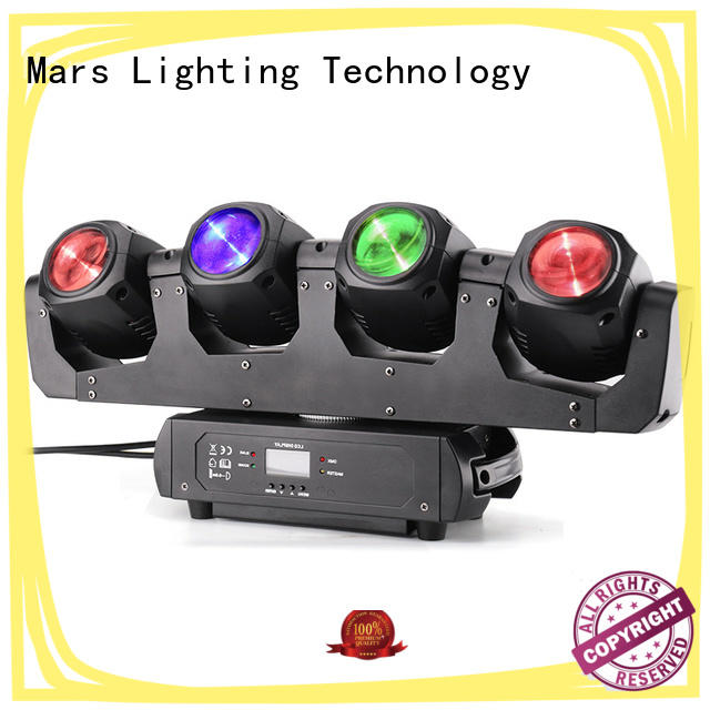 Marslite smooth moving stage lights easy install for DJ moving show