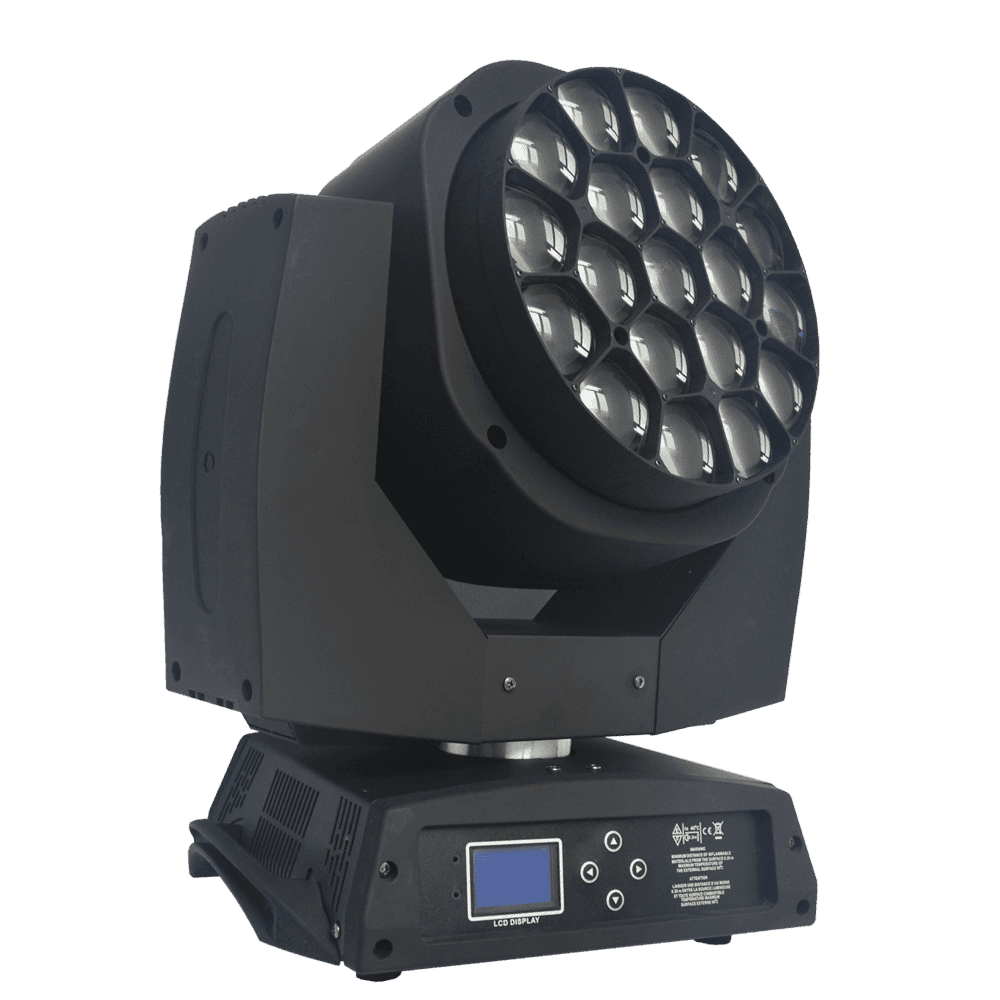 LED Super Bee Eye Moving Head With Zoom Function MS-BY1915-1