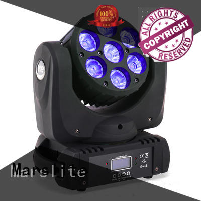 Marslite smooth led moving head disco light for disco
