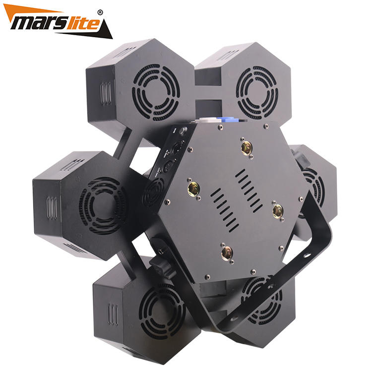 Multi-effect led stage spotlights cob easy to carry for KTV-3
