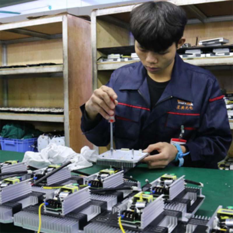 Marslite multi-color led smoke machine manufacturer for dj-8