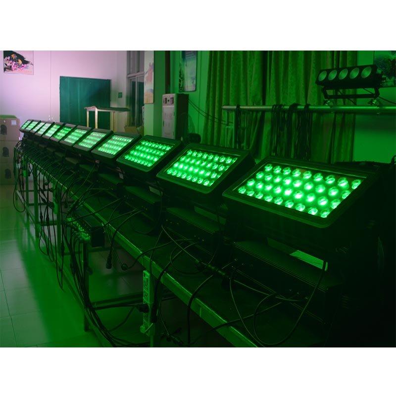 Marslite LED Wall Washer Ip65 Par Light 36x10W RGBW 4IN1 LED MS-BW36 LED Wash Series image5