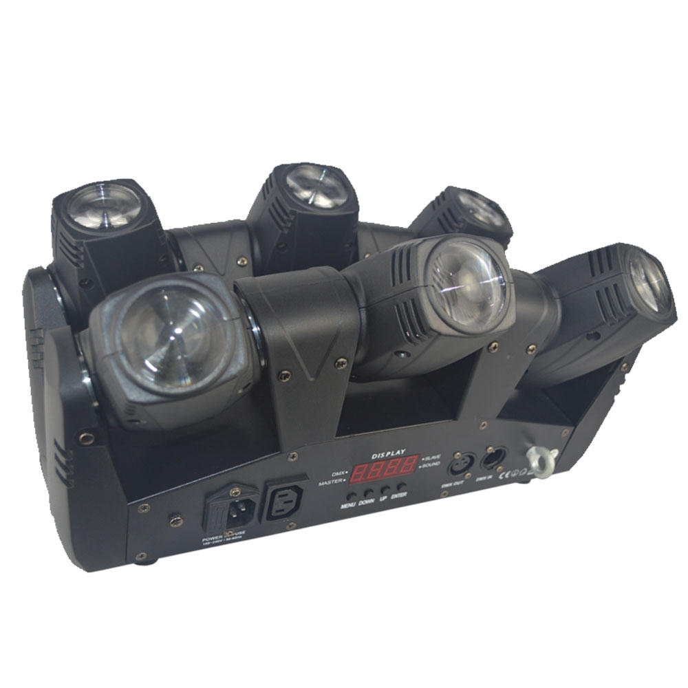 Hot pocket moving head dj lights six Marslite Brand
