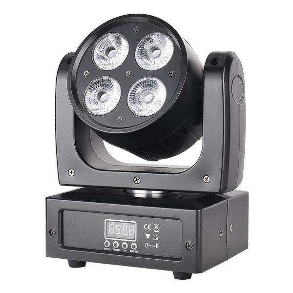LED Beam Moving Head DJ Light 4X18W RGBWAUV 6in1 MS-CM64