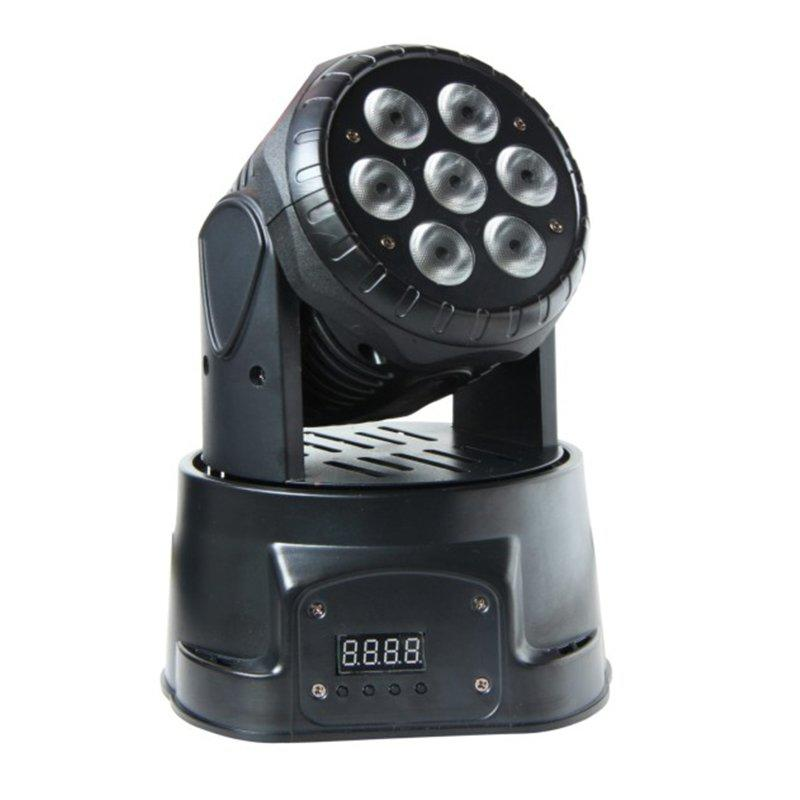 7*10W LED Mini Moving Head Light RGBW 4IN1 Color MS-1007