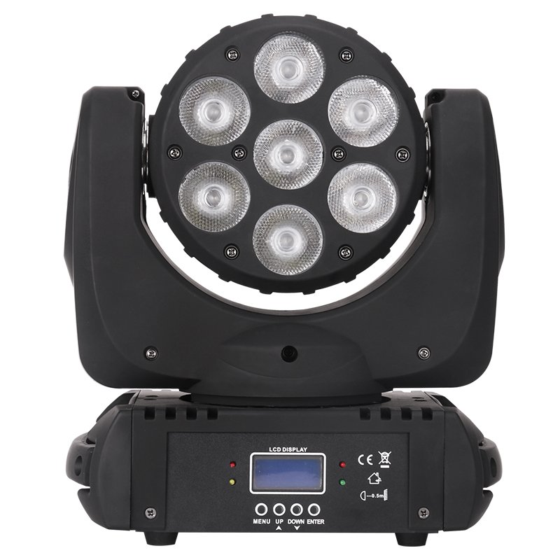 Marslite LED Moving Head Light 7pcs 12W RGBW 4in1 LED MS-CM07 LED Moving Head Series image23