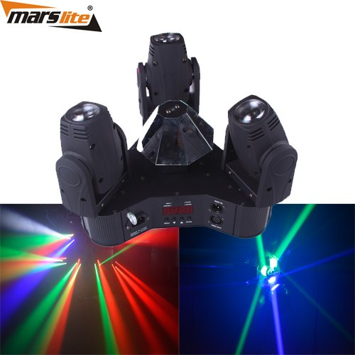 Marslite LED Triangle Moving Head Beam Light 3x10W RGBW 4in1 MS-MPS3SC LED Moving Head Series image22
