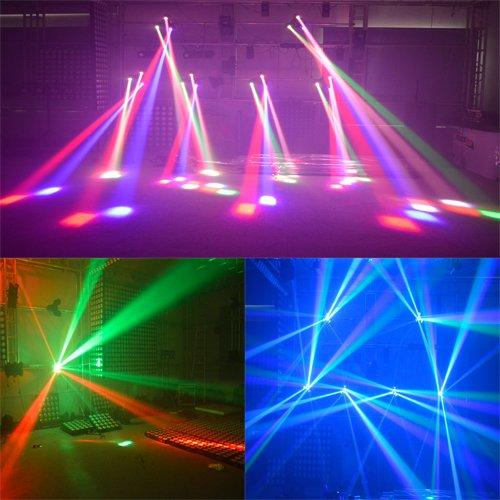 LED Triangle Moving Head Beam Light 3x10W RGBW 4in1 MS-MPS3SC