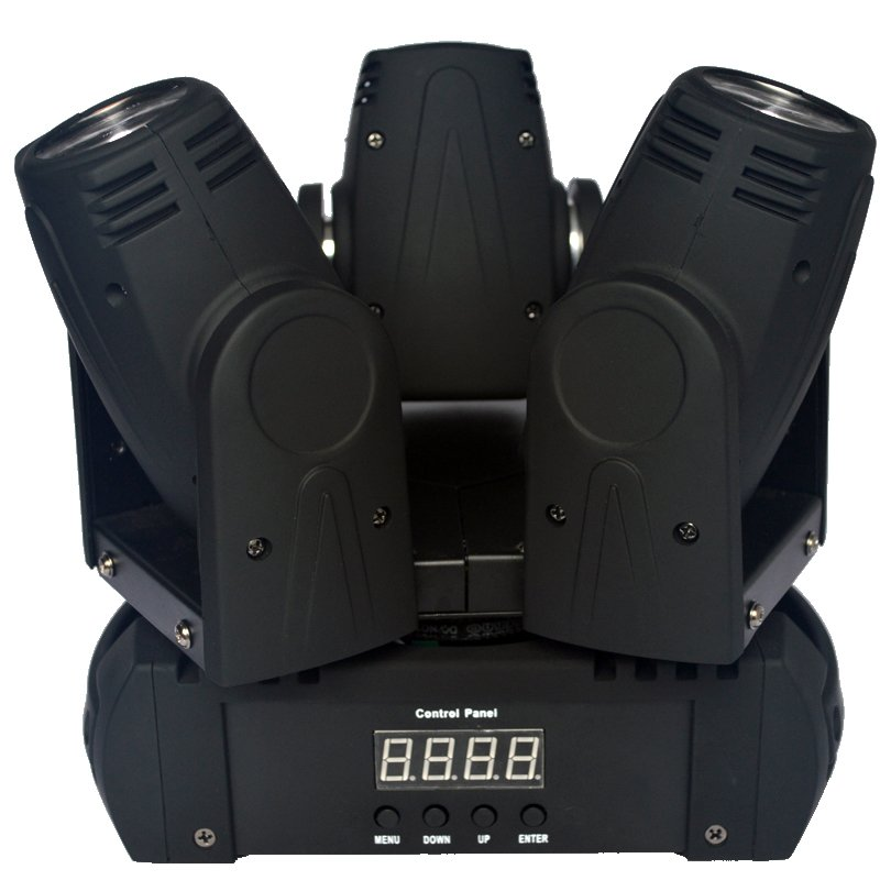 Marslite Unlimited Moving Head Stage Light Marslite 3x10W RGBW 4in1 LEDs MS-MH3FC LED Moving Head Series image21