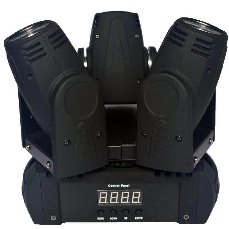 Unlimited Moving Head Stage Light Marslite 3x10W RGBW 4in1 LEDs MS-MH3FC