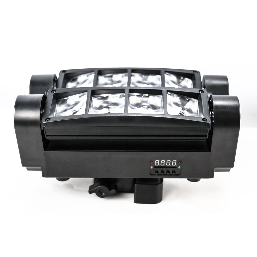 Marslite Mini Spider Moving Head Light 8*3W RGBW Single Color MS-SP8M LED Moving Head Series image15