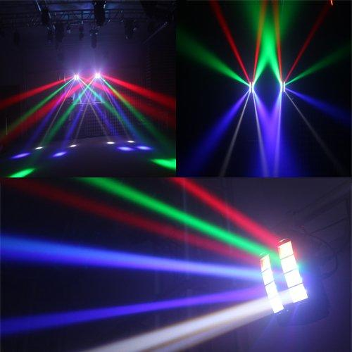 Mini Spider Moving Head Light 8*3W RGBW Single Color MS-SP8M
