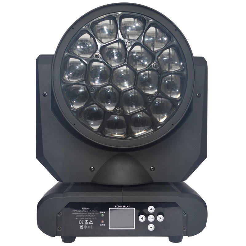 Marslite Beam Eye Moving Head Light 19pcs 12w RGBW 4in1 LEDs MS-CM19 LED Moving Head Series image14
