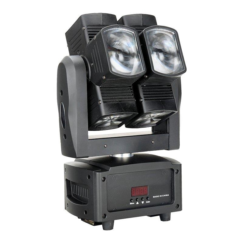 hot selling 3x10w led moving head light triangle Marslite