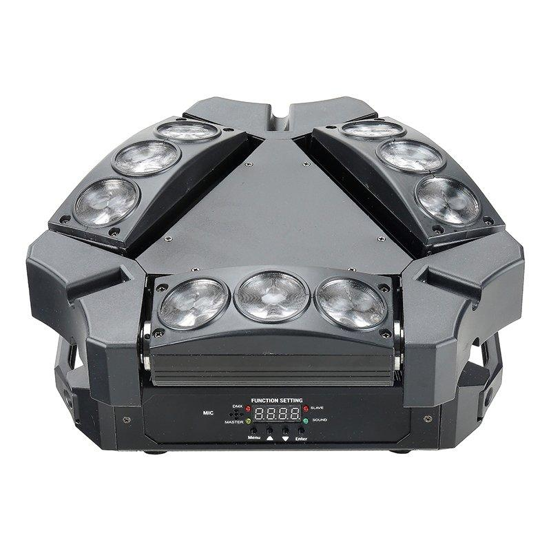 Mini Spider 9*12W RGBW 4in1 Moving Head Light MS-SP9M-FC