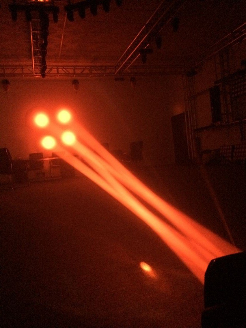 high quality led moving head disco light shooter customized for party-4
