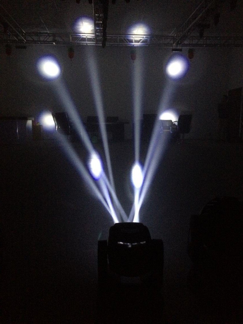 high quality led moving head disco light shooter customized for party-5