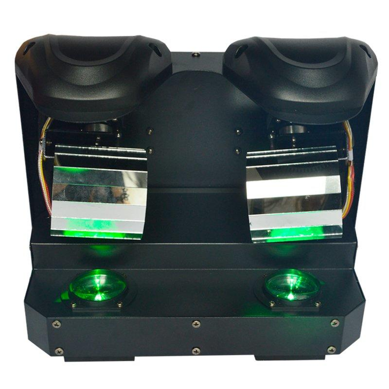 LED Double Roller Scanner DJ Light MS-ZP20