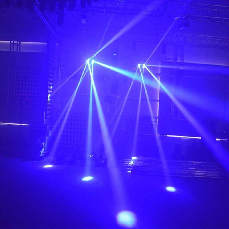 LED Double Roller Scanner DJ Light MS-ZP20