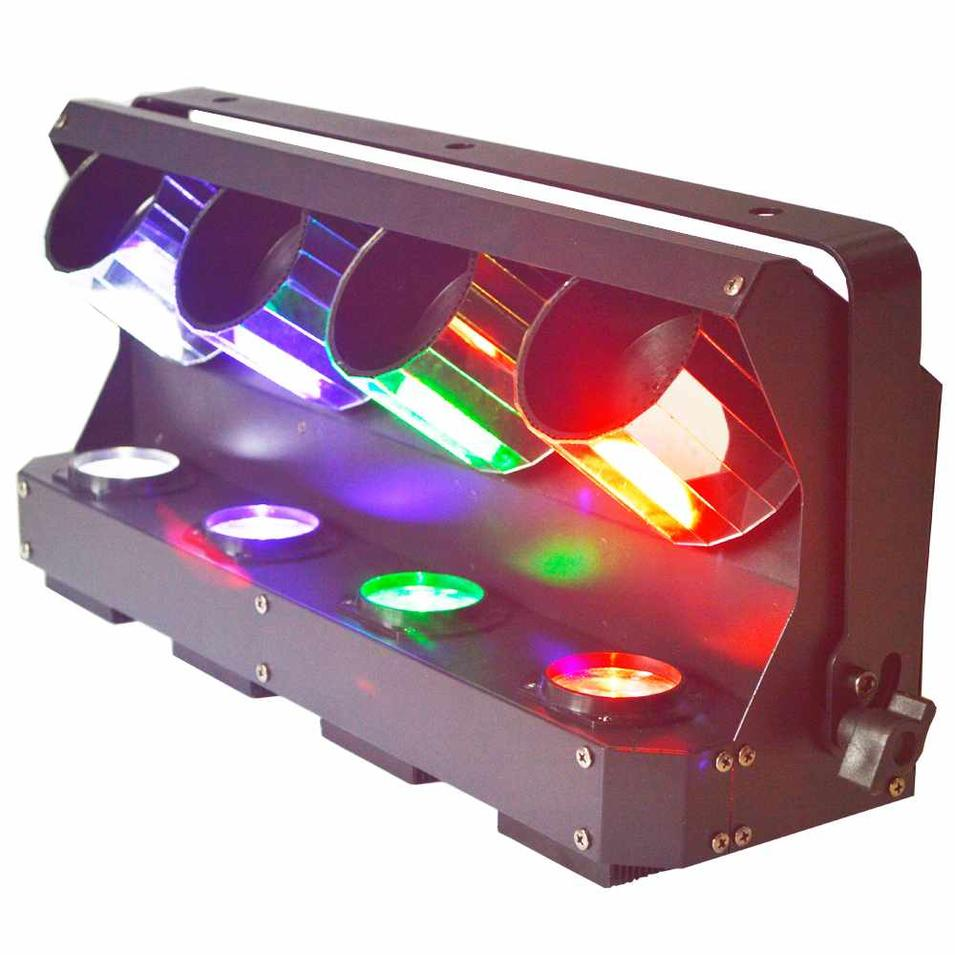 LED Roller Scanner Stage Light 4pcs 10W RGBW Single Color  MS-ZP40 S