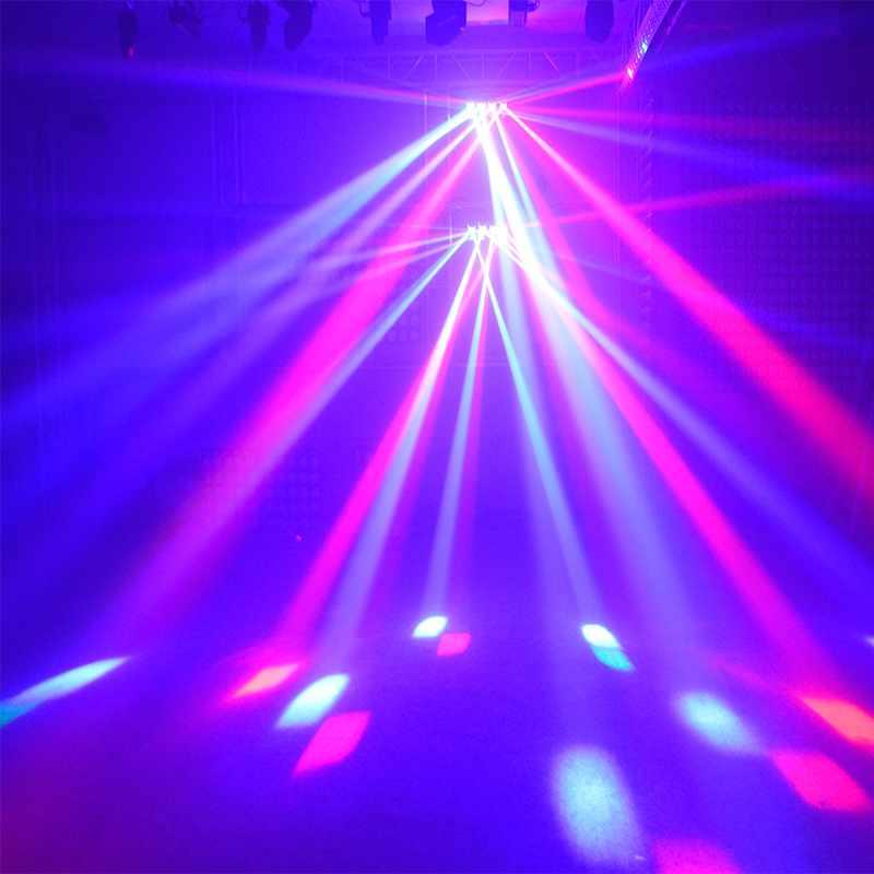 Marslite LED Quad Roller Scanner Light  4pcs RGBW 4in1 10W LED MS-ZP40 RGBW LED Effect Light Series image11