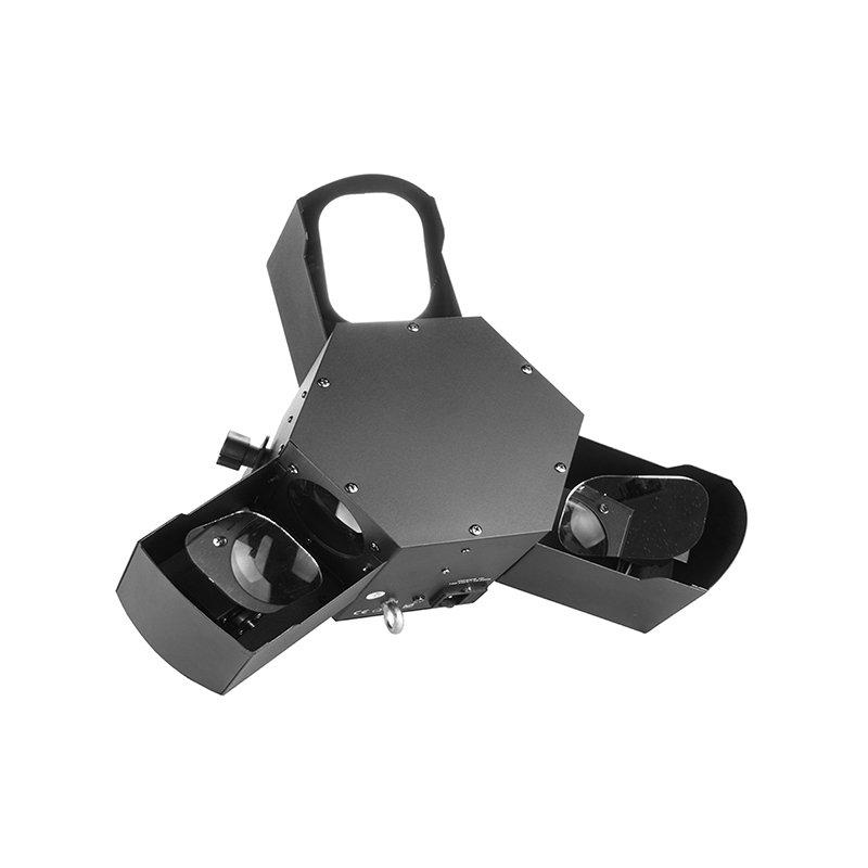 High Power Trinal Scanner Light 15pcs RGBWA 3W Single Color MS-CT13
