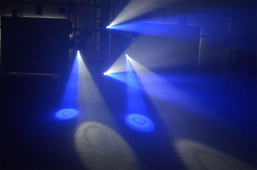 Custom popular logo led effect light Marslite laser