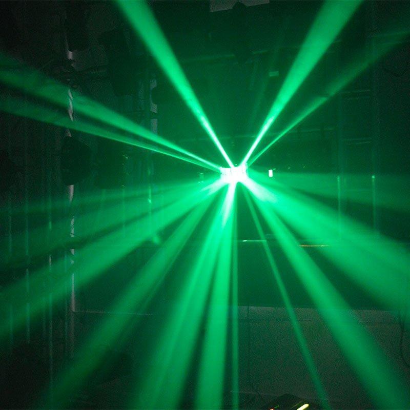 led dj super led effect light logo Marslite