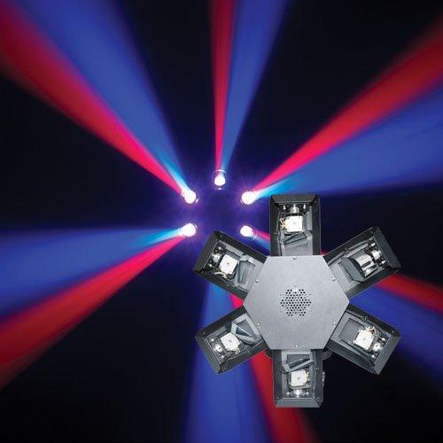 Marslite LED Six Scan DJ light 6PCS RGBW 10W 4IN1 MS-6SC LED Effect Light Series image2