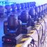Marslite Brand 80w 6in1 laser strobe led effect light