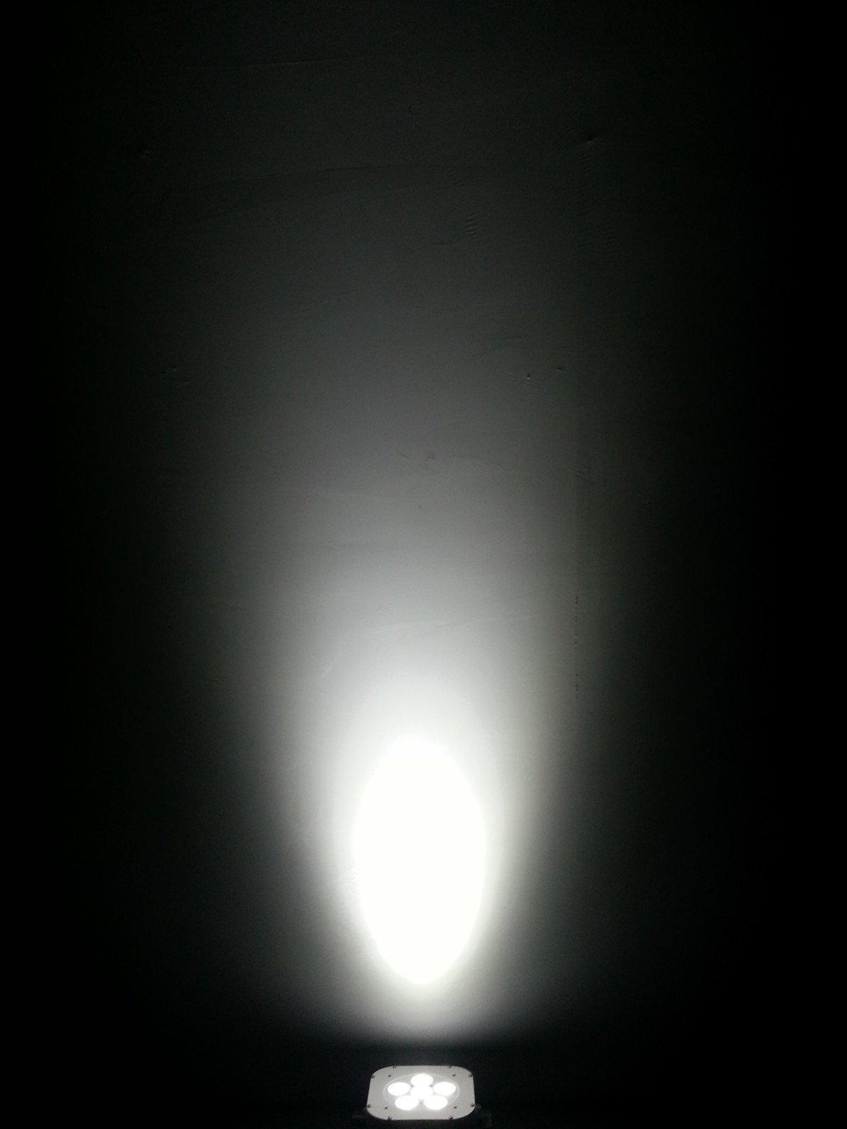 4in1 flat 4par OEM led par lights Marslite