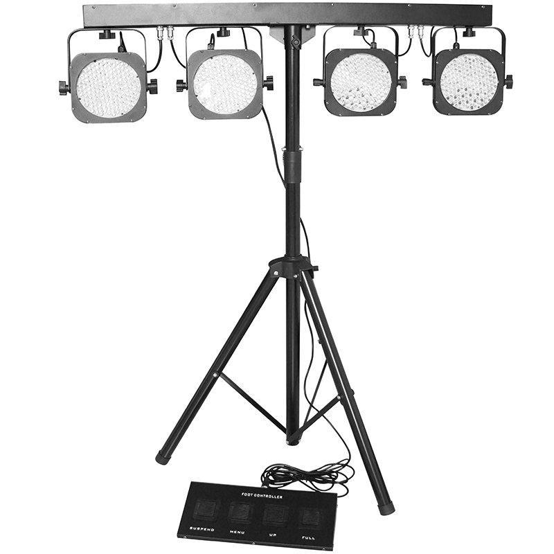 LED 4 Par System Bar Light For Stage DJ Equipment MS-402
