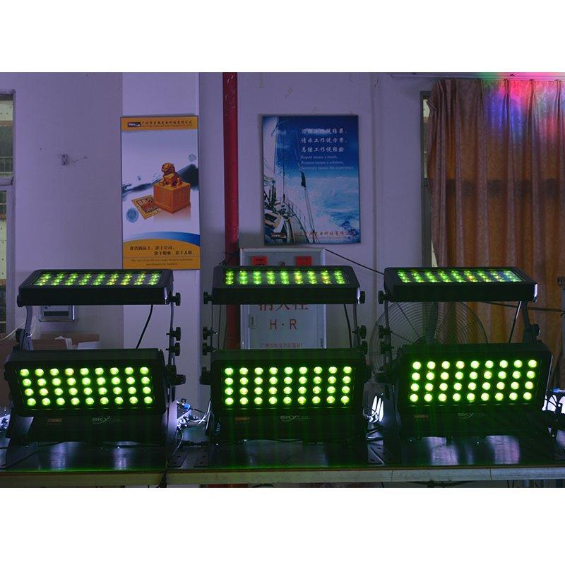 Waterproof LED Wall Washer  Par Light 72x10W RGBW 4IN1 MS-BW72