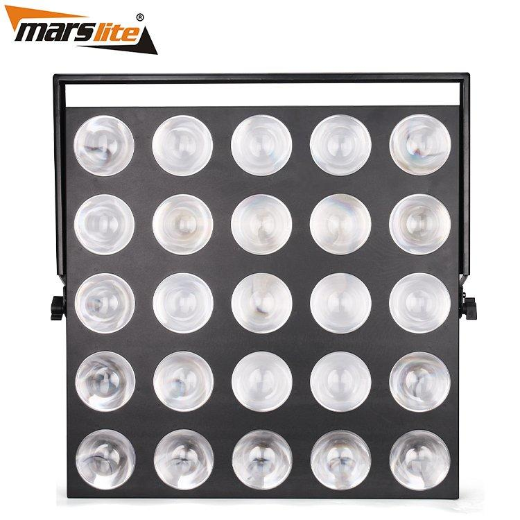 Led Matrix Blinder Light 25X10W Wram White MS-MTX25B-WW