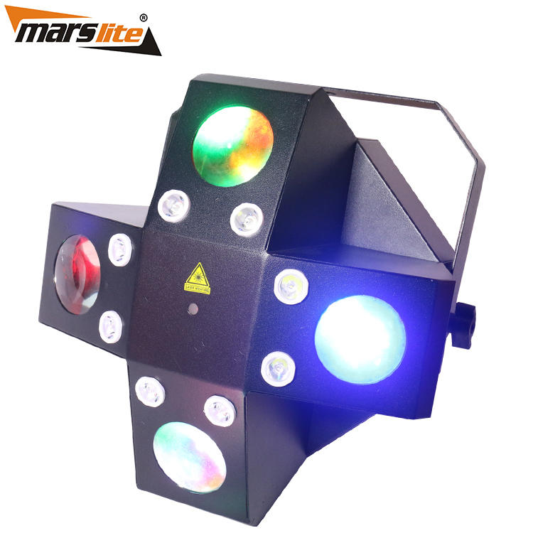 Laser+Strobe+LED Effect DJ Light  Marslite MS-ML06