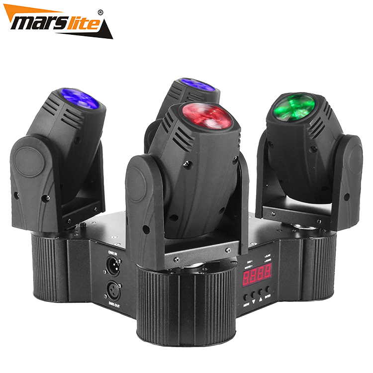 Square Four Head LED Beam Moving Head Light  MS-MPQ4