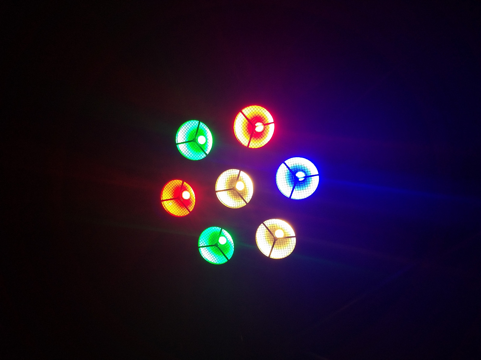 Multi-effect led stage spotlights cob easy to carry for KTV-6
