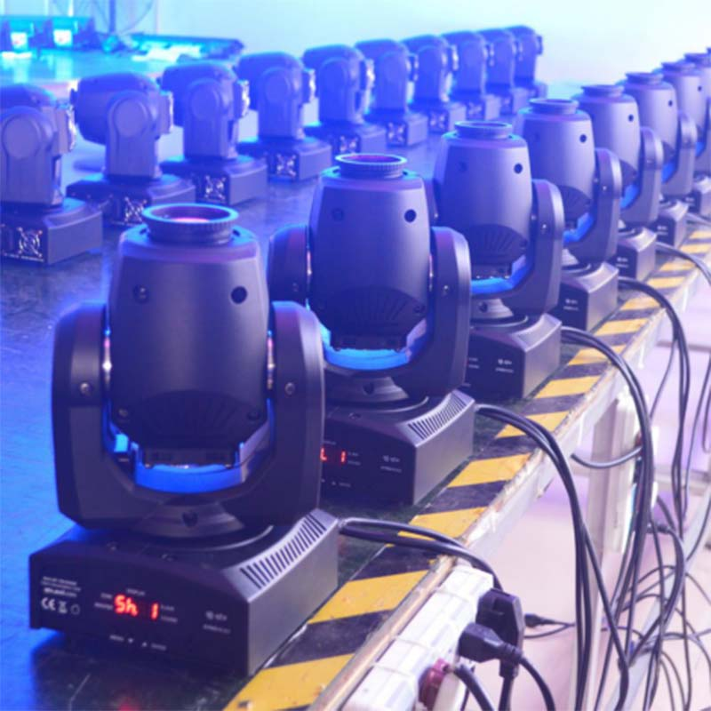 Multi-effect led stage spotlights cob easy to carry for KTV-8
