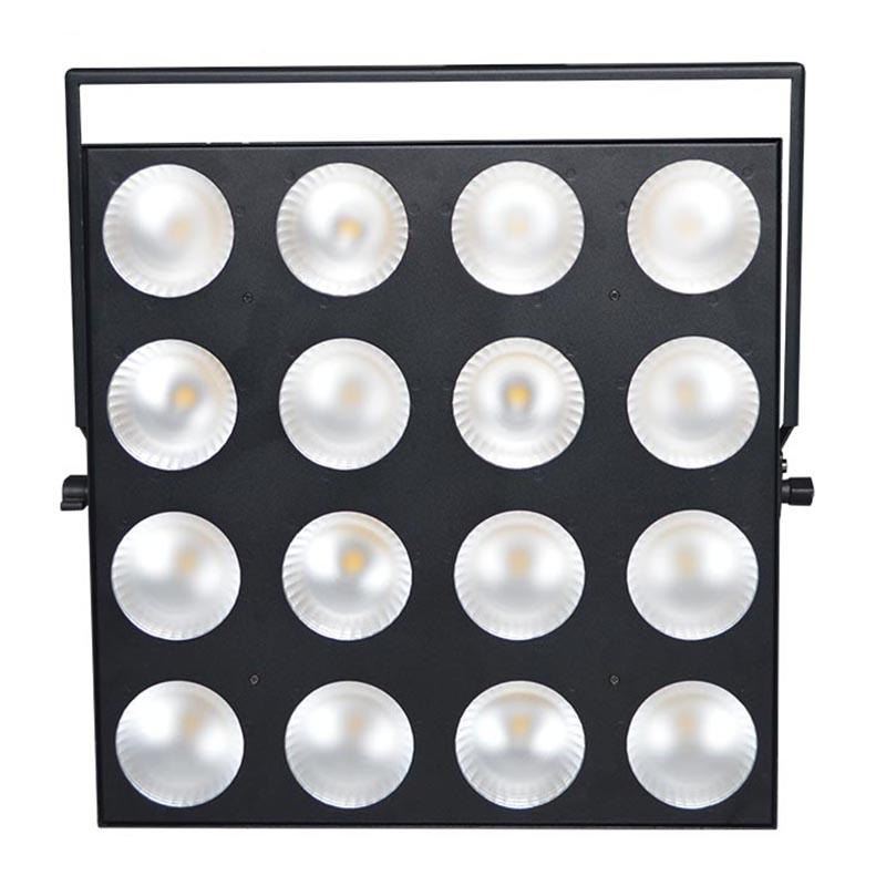 Marslite Slim LED COB Matrix Panel Light 16x30W RGB Color MS-16TS