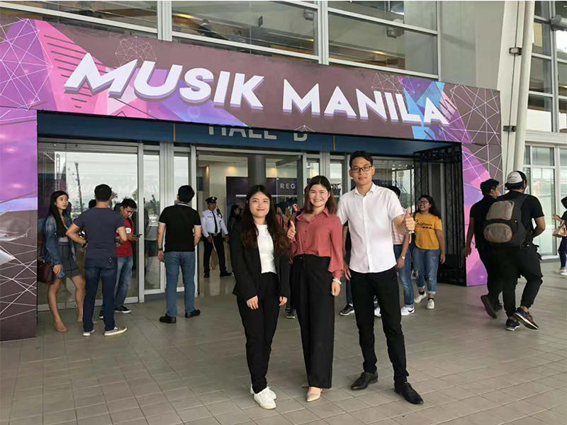Interview video for Phillippines customer in MUSIK MANILA