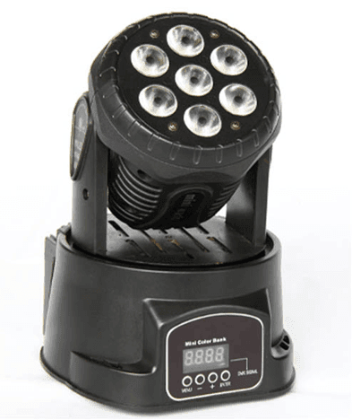 adjustable moving spotlight mini manufacturer for disco