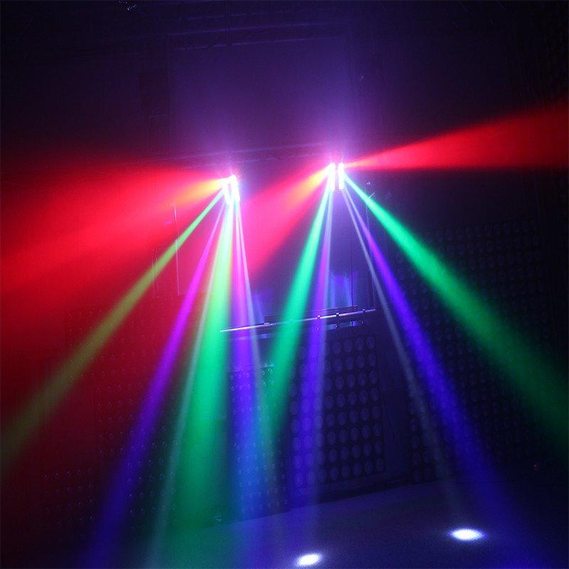 triangle 4in1 professional led moving head light 4x18w Marslite Brand