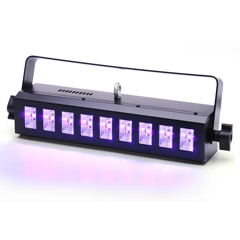 3W 9 Eyes UV Strobe Bar Stage Light MS-ST09-UV