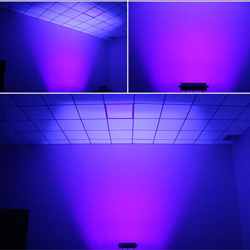 3W 9 Eyes UV Strobe Bar Stage Light MS-ST09-UV