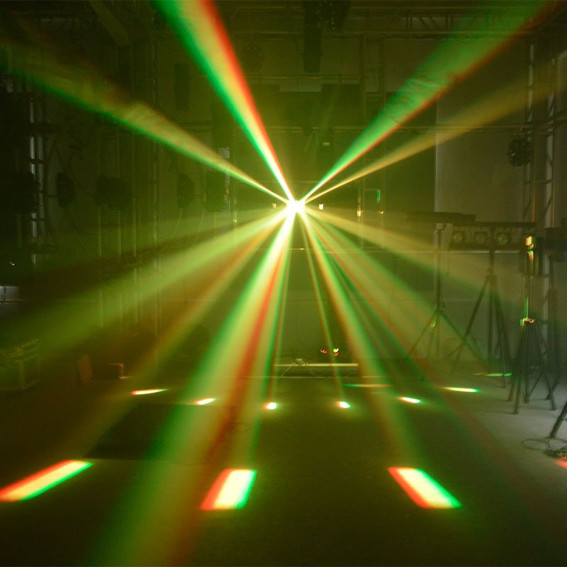 Marslite flexibility led light projector customizedeffects for disco-7