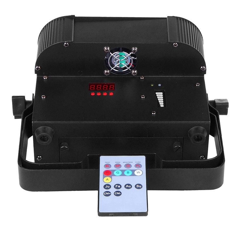 durable rgbw led par can rgbwuv with different visual effects for mobile DJs