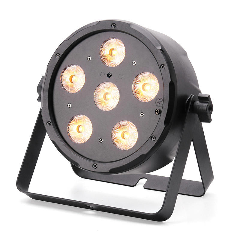 Mini LED Flat Par Light WWCWY 3IN1 Color MS-CP63W